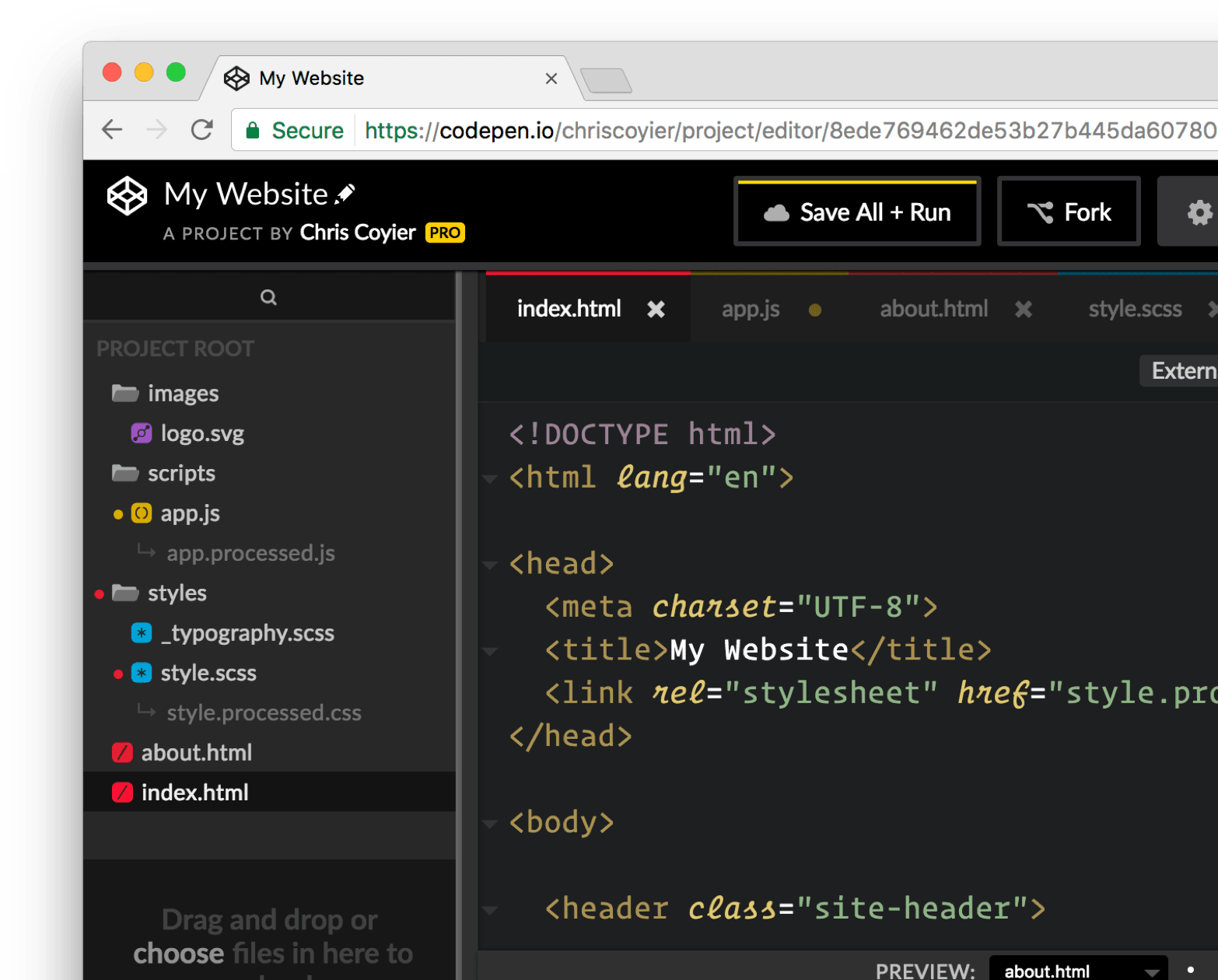 CodePen - Front End Developer Playground & Code Editor in the Browser