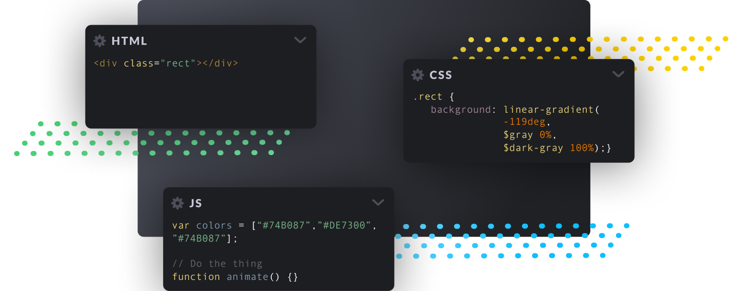 CodePen: Build, Test, and Discover Front-end Code